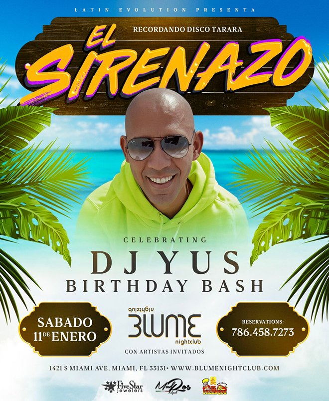 "Cover evento ""El Sirenazo"""