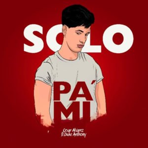 "Cover tema ""Sólo pa' mi"""