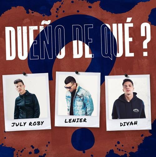 """Cover tema """"Dueño de Qué?"""""""