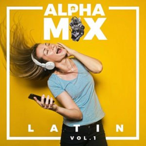 "Cover disco ""Alpha Mix Latin Vol 1"""