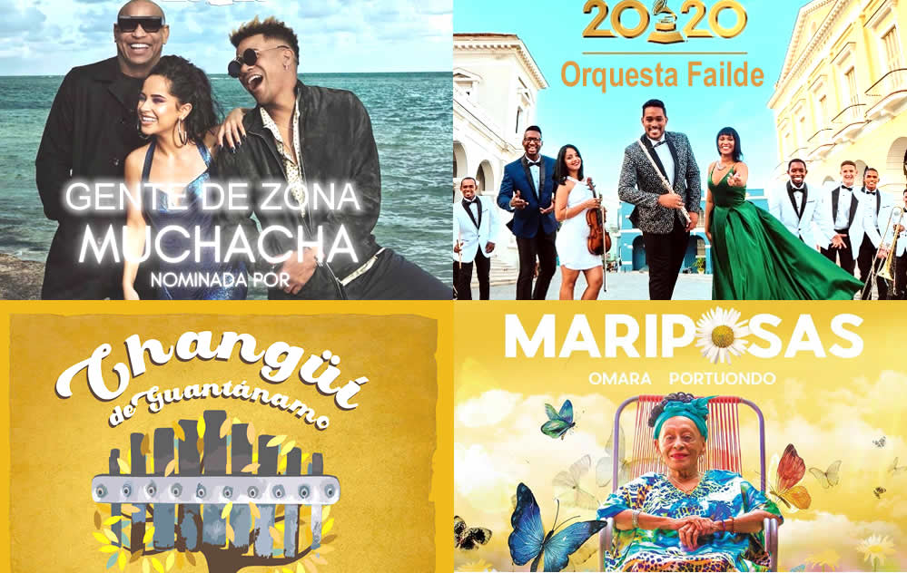 """Portada Noticia """"Cuba Suena Premios Grammy"""""""