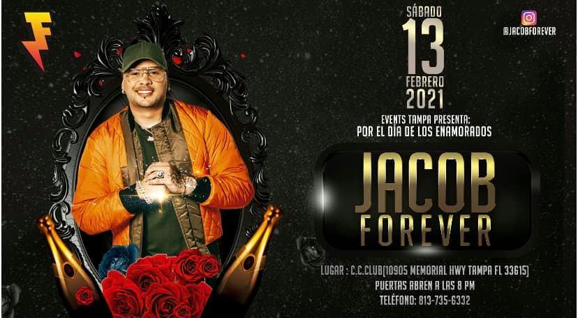 Concierto de Jacob en Tampa 2021